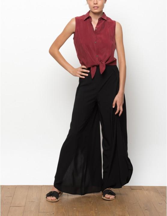 MISALI cupro shirt - MASAAI - RESET PRIORITY