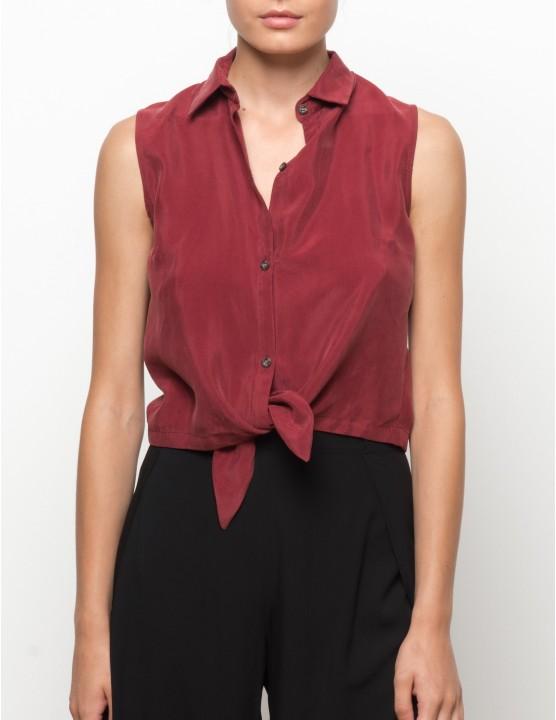 MISALI camisa en cupro - MASAAI - RESET PRIORITY