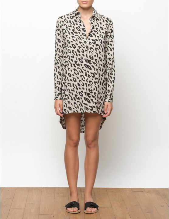KIGO long sleeves shirt - LEOPARD - RESET PRIORITY