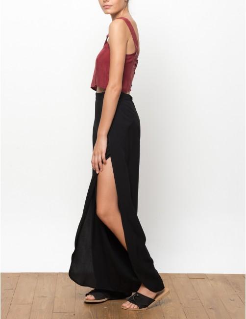 MISALI trousers - BLACK - RESET PRIORITY