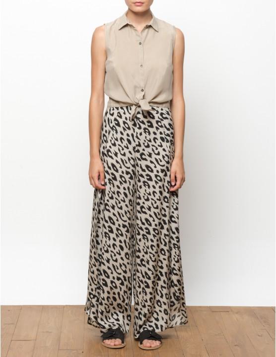 MISALI pantalones - Leopard - RESET PRIORITY