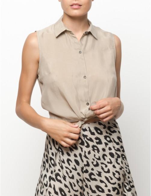 MISALI shirt - TANNED - RESET PRIORITY
