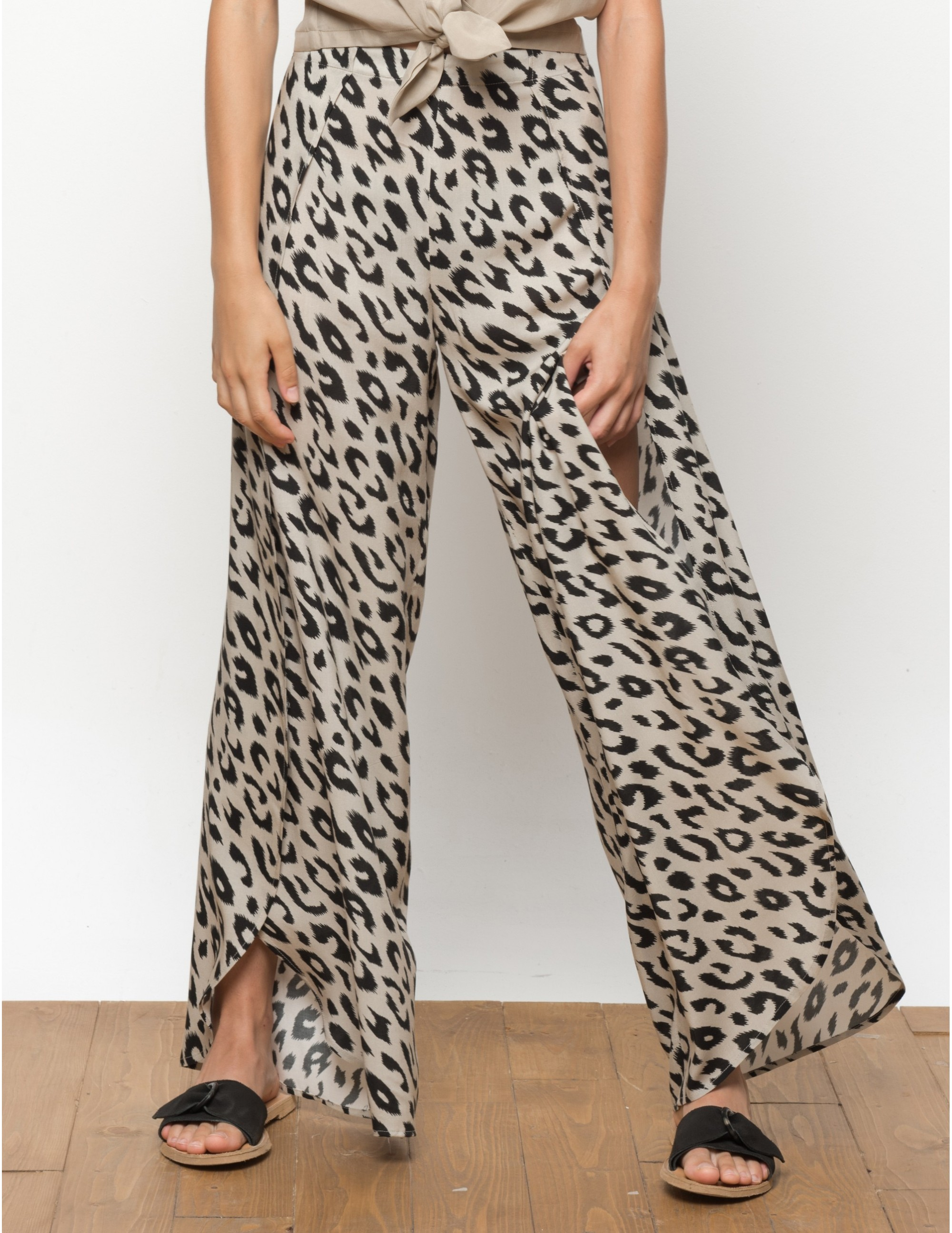 MISALI trousers - Leopard - RESET PRIORITY