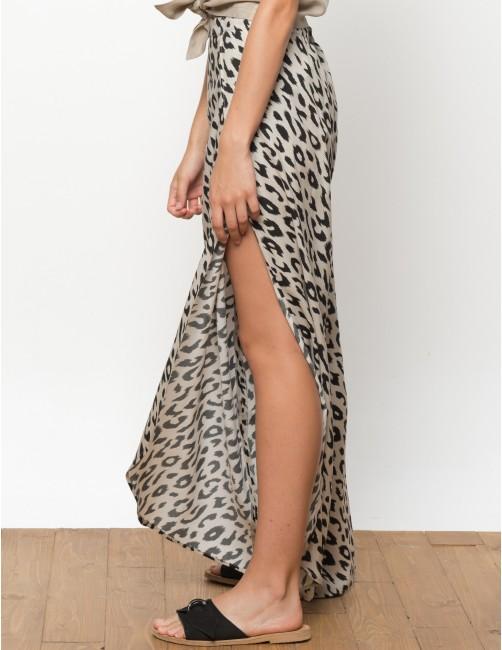MISALI trousers - Leopard - RESET PRIORITY