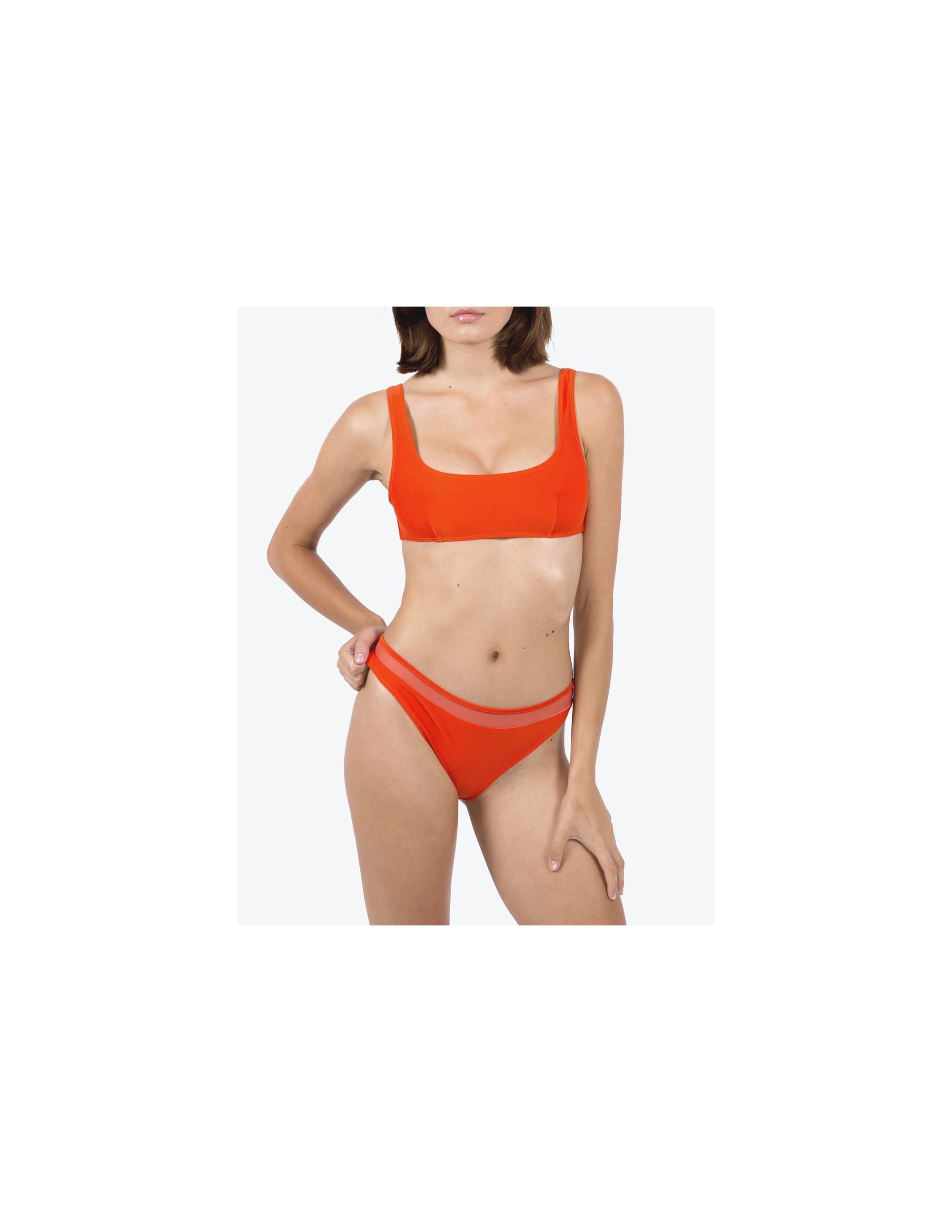 VIK bikini top - CHARACTER RED