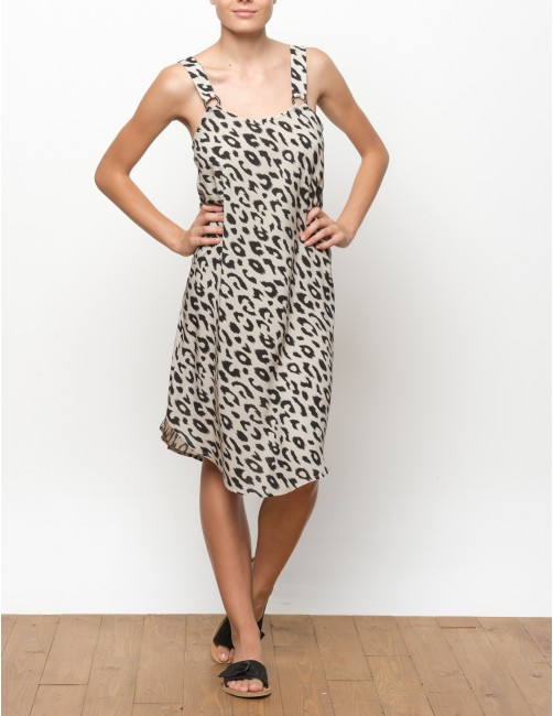 VUMA dress - LEOPARD - RESET PRIORITY