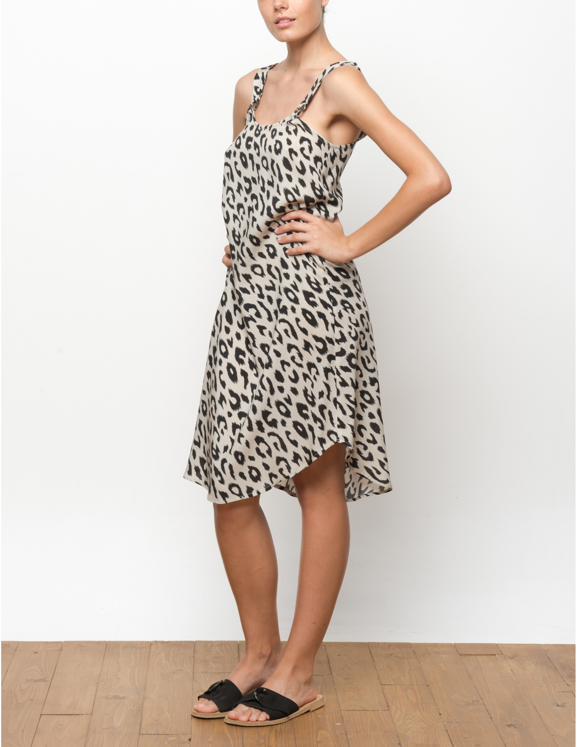 VUMA dress - LEOPARD