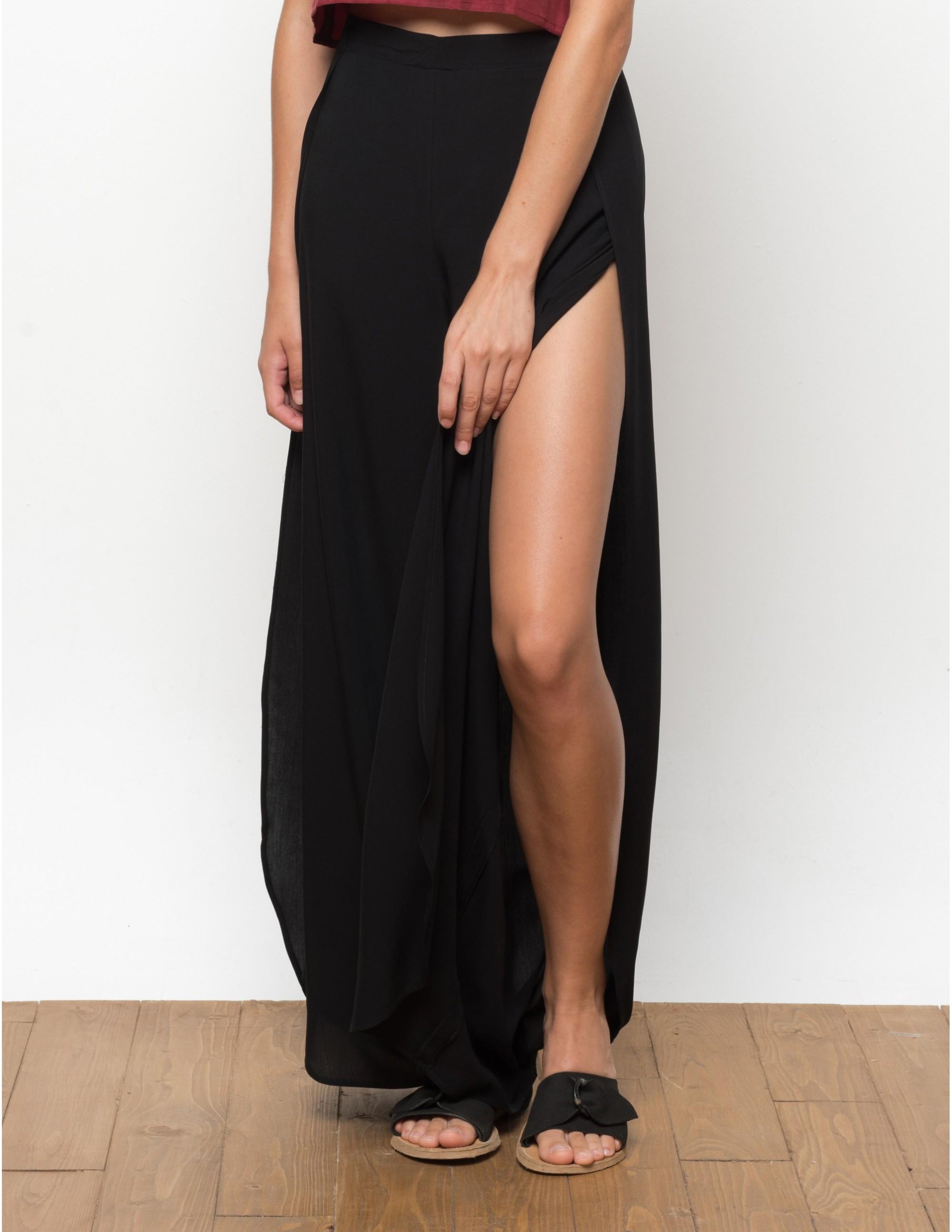 MISALI trousers - BLACK