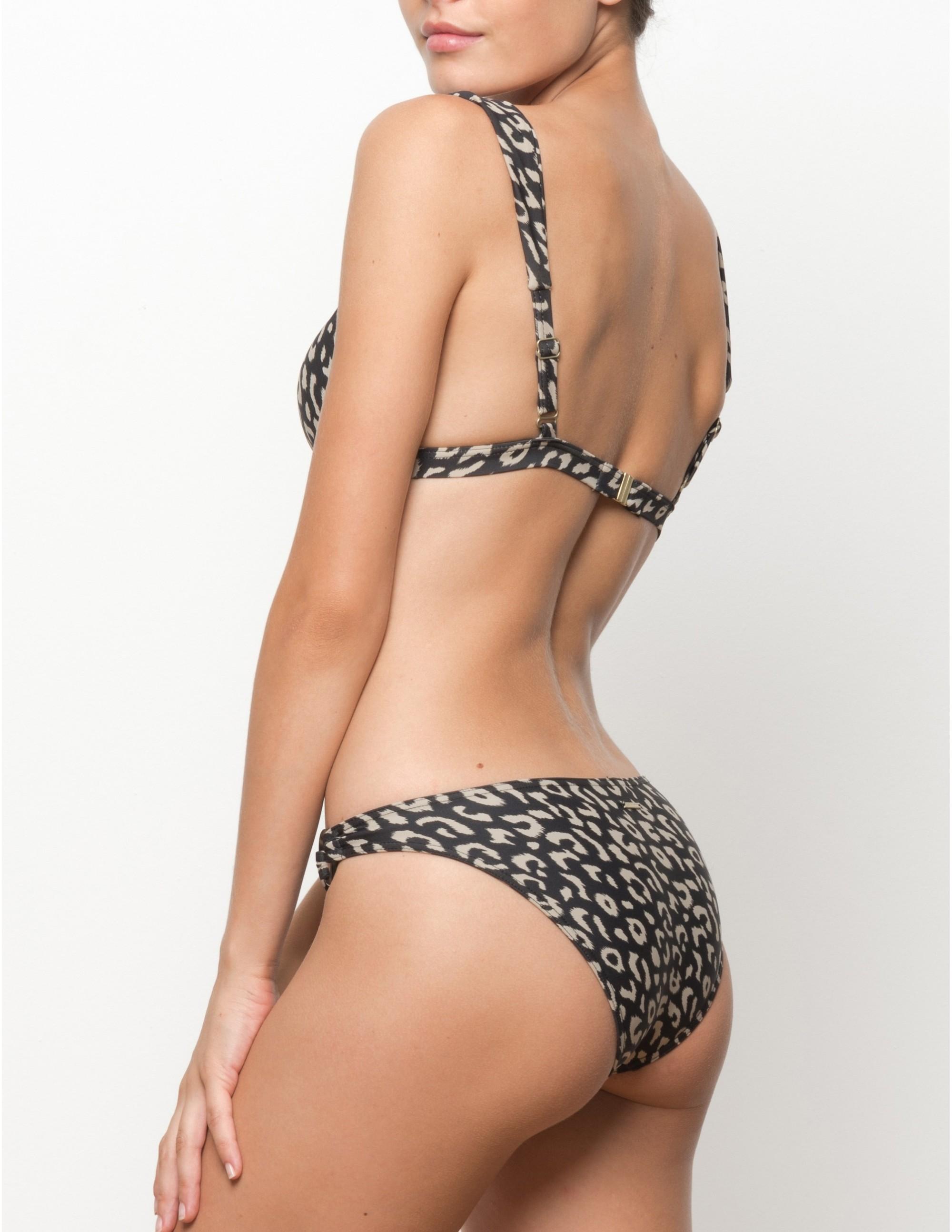 BAWE bikini top - LEOPARD