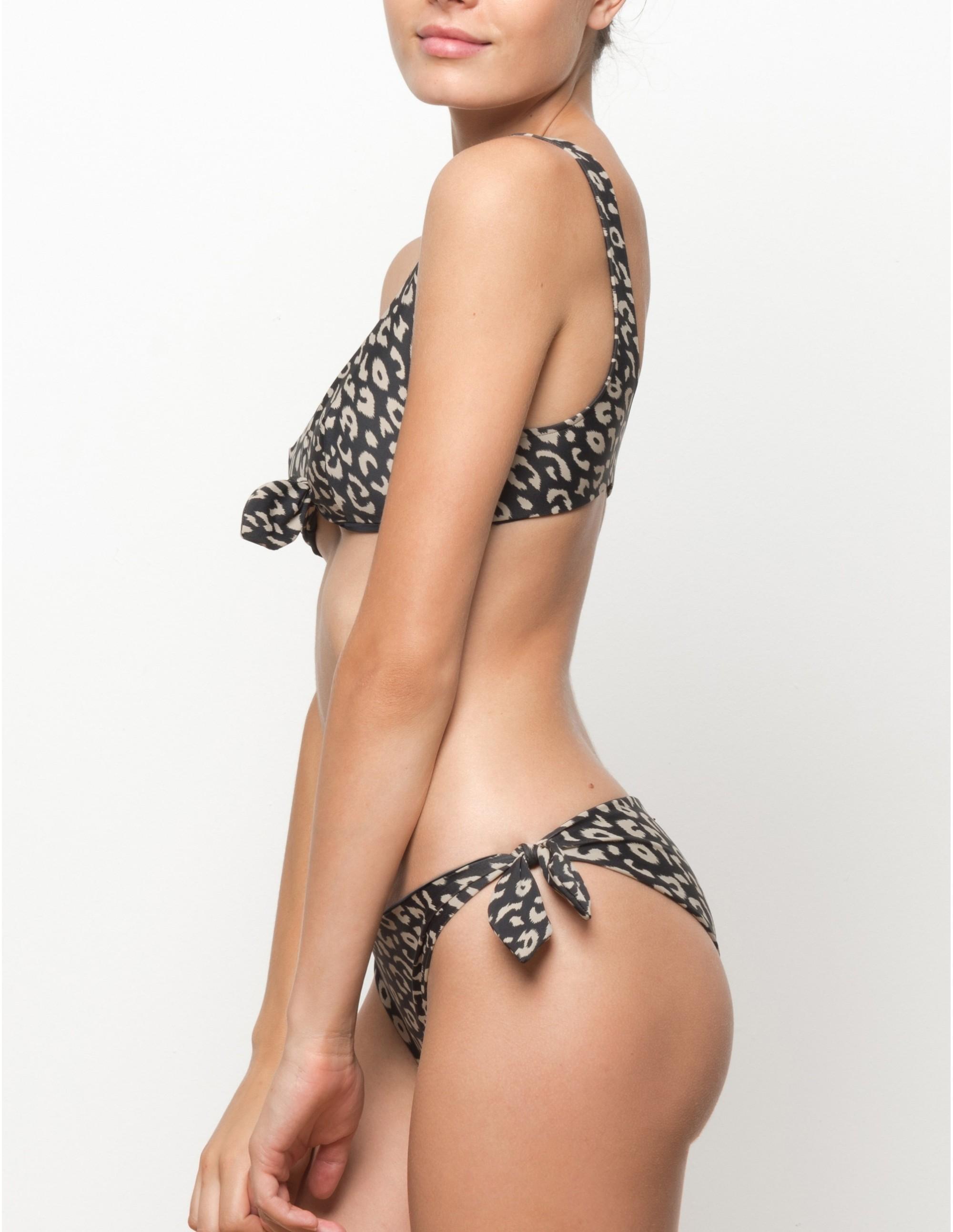 MISALI bikini top - LEOPARD