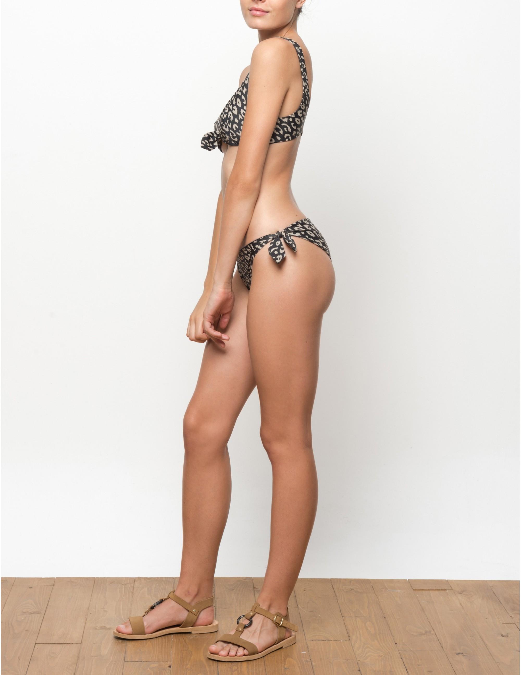 MISALI bikini bottom - LEOPARD