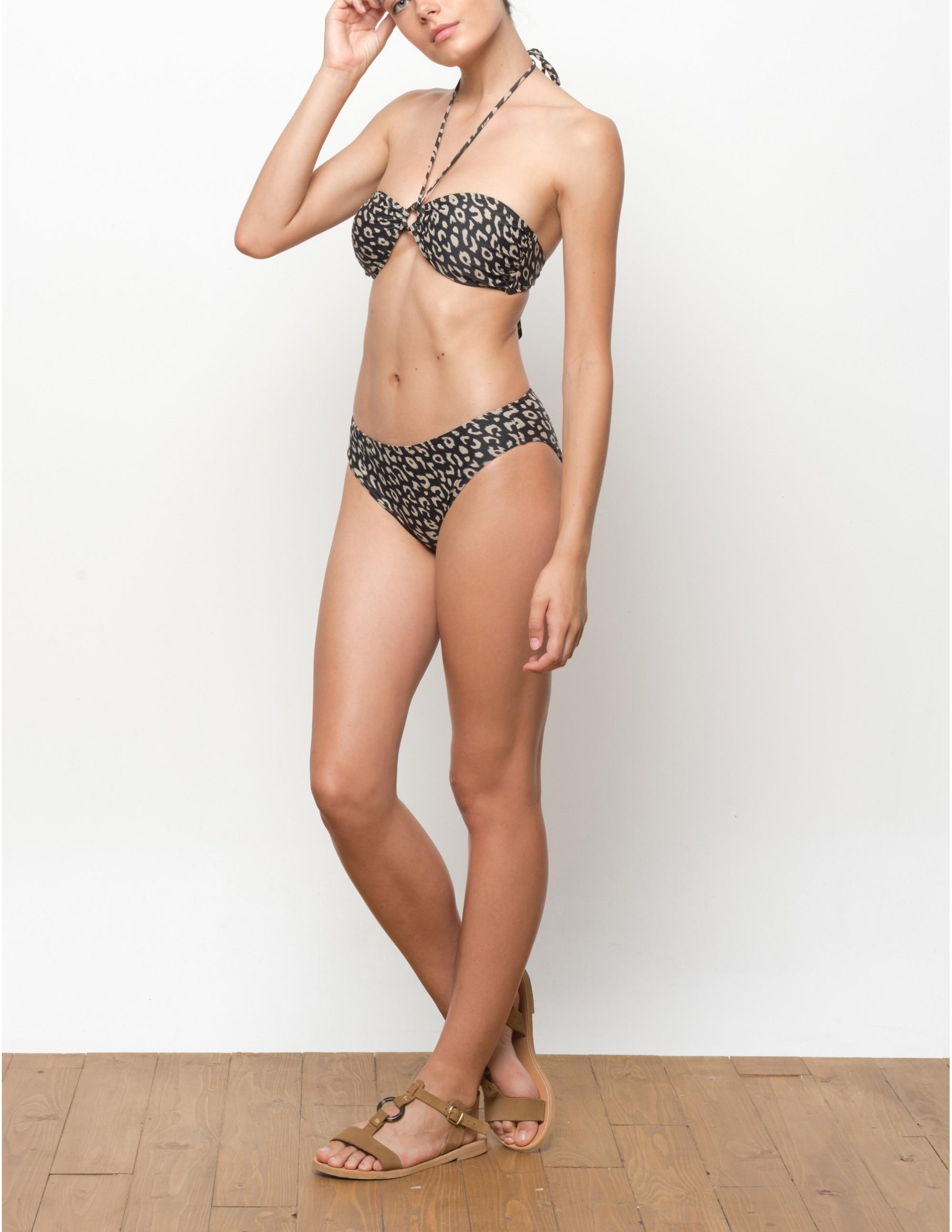 VUMA bikini top - LEOPARD