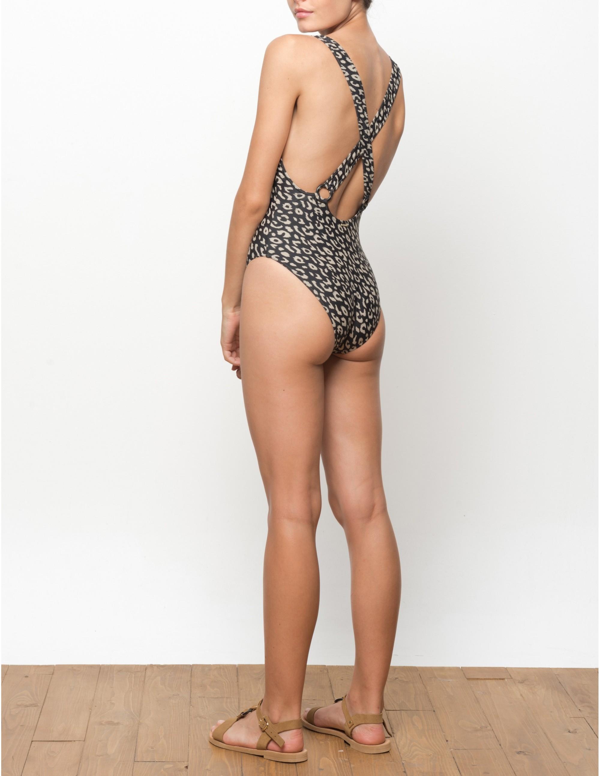 UROA swimsuit - LEOPARD