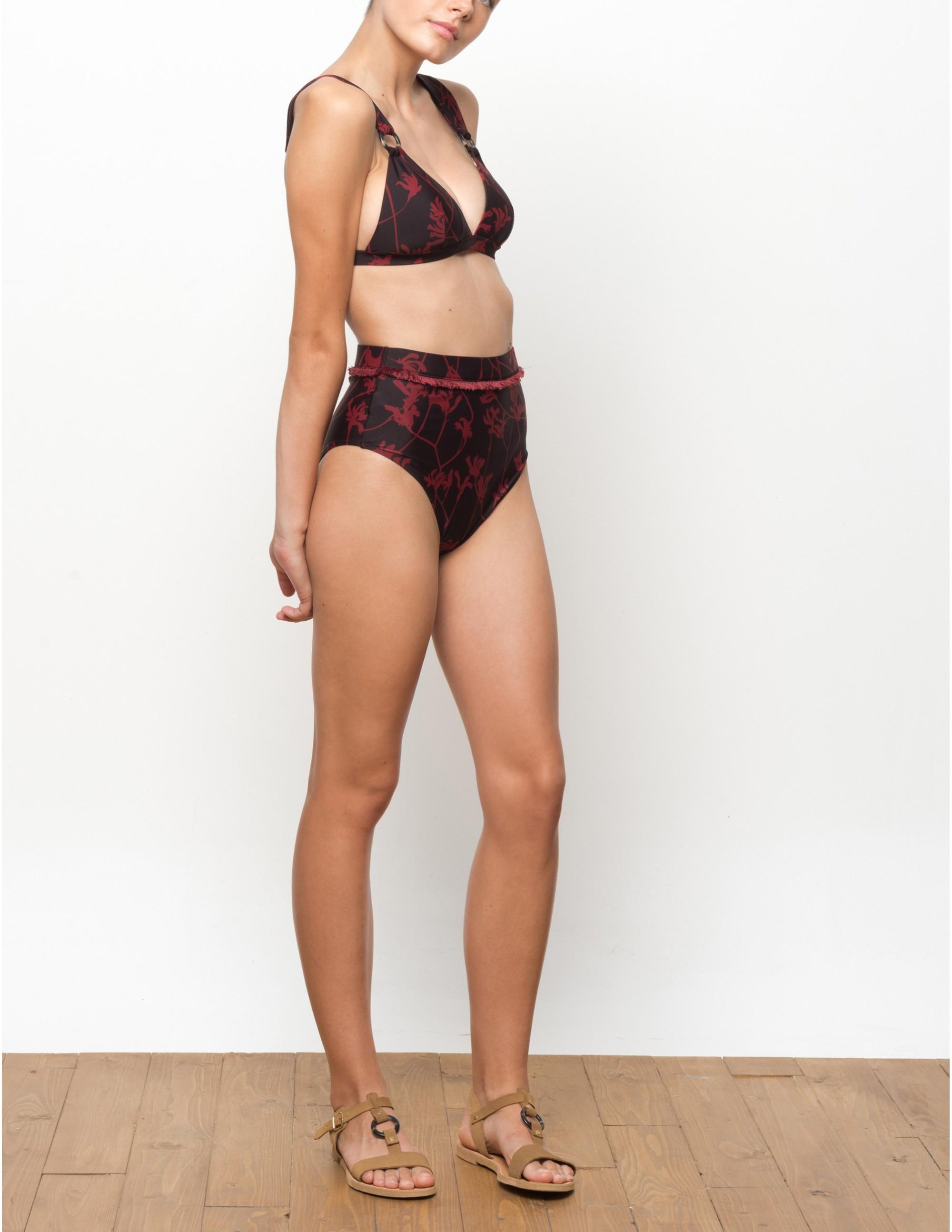 BAWE bikini top - FLAME LILLY