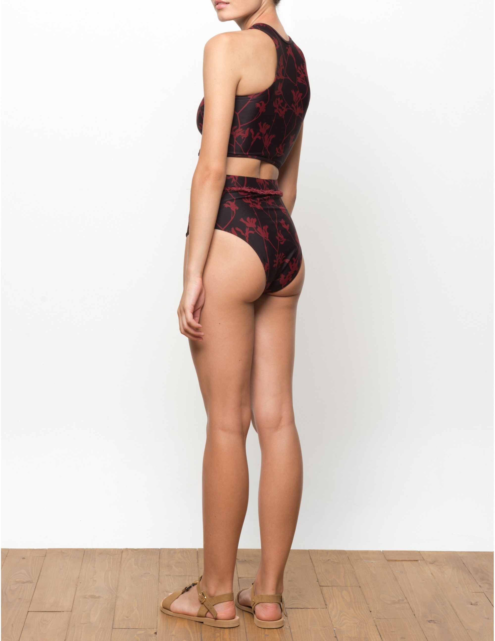NAKU bikini top - FLAME LILLY