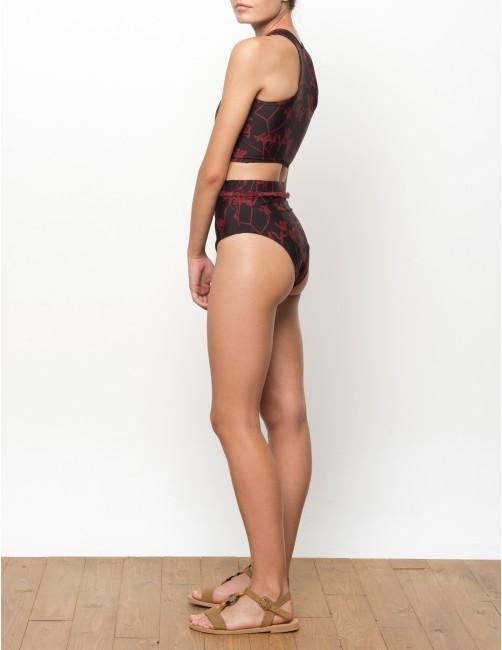 NAKU bikini bottom - FLAME LILLY - RESET PRIORITY