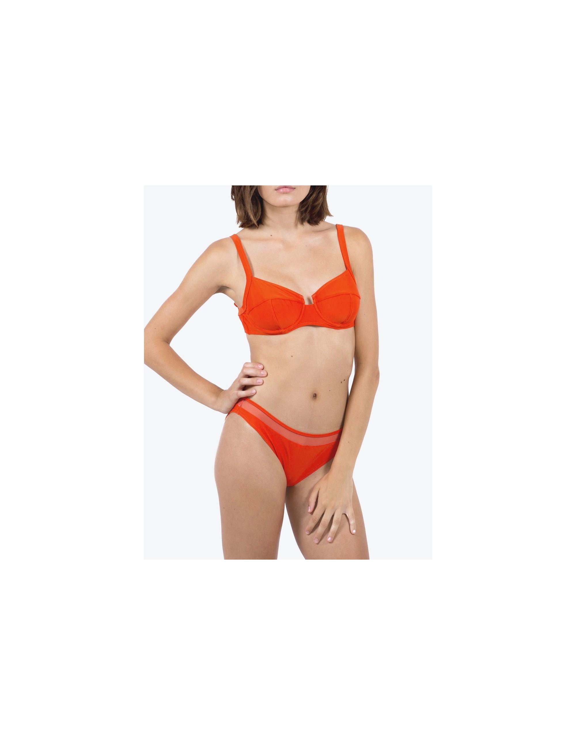 NAOS bikini top - CHARACTER RED