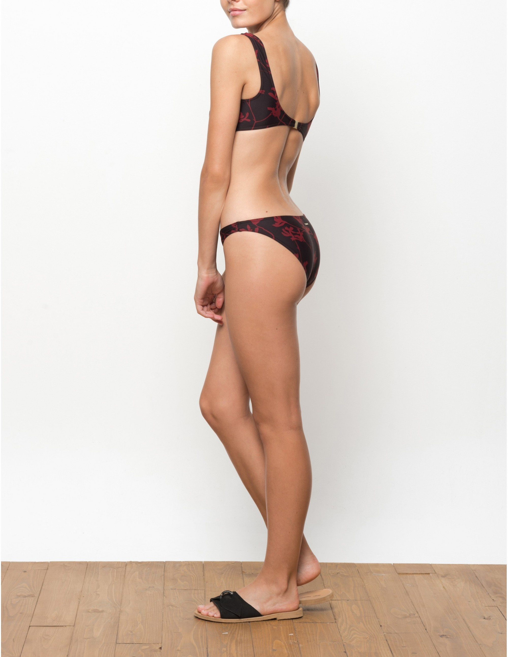 PARAISO bikini bottom - FLAME LILLY