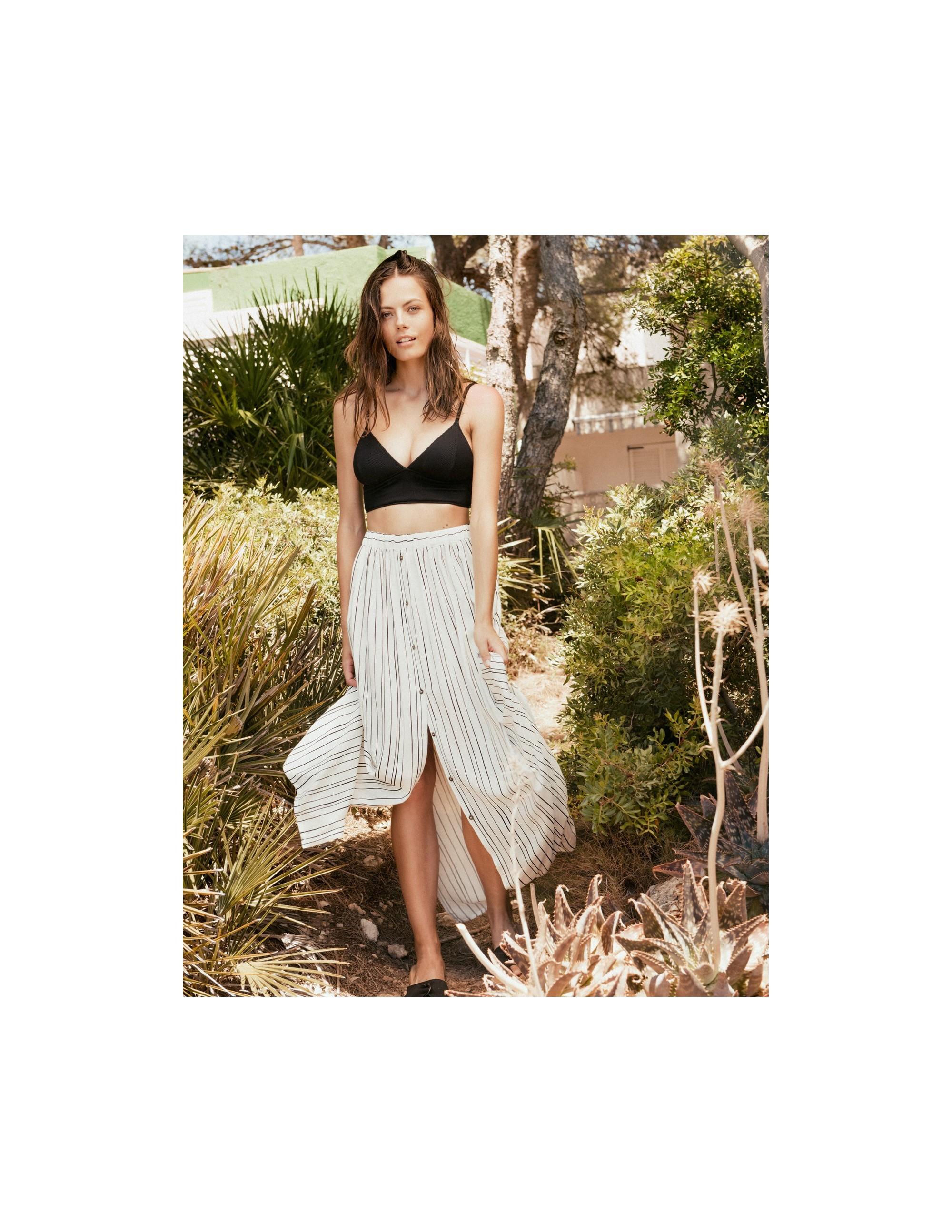 BAWI falda larga con botones - LIMITLESS - RESET PRIORITY