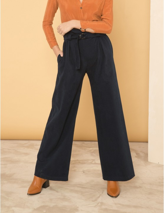 PROJECTION trousers - BLU NOTTE - RESET PRIORITY