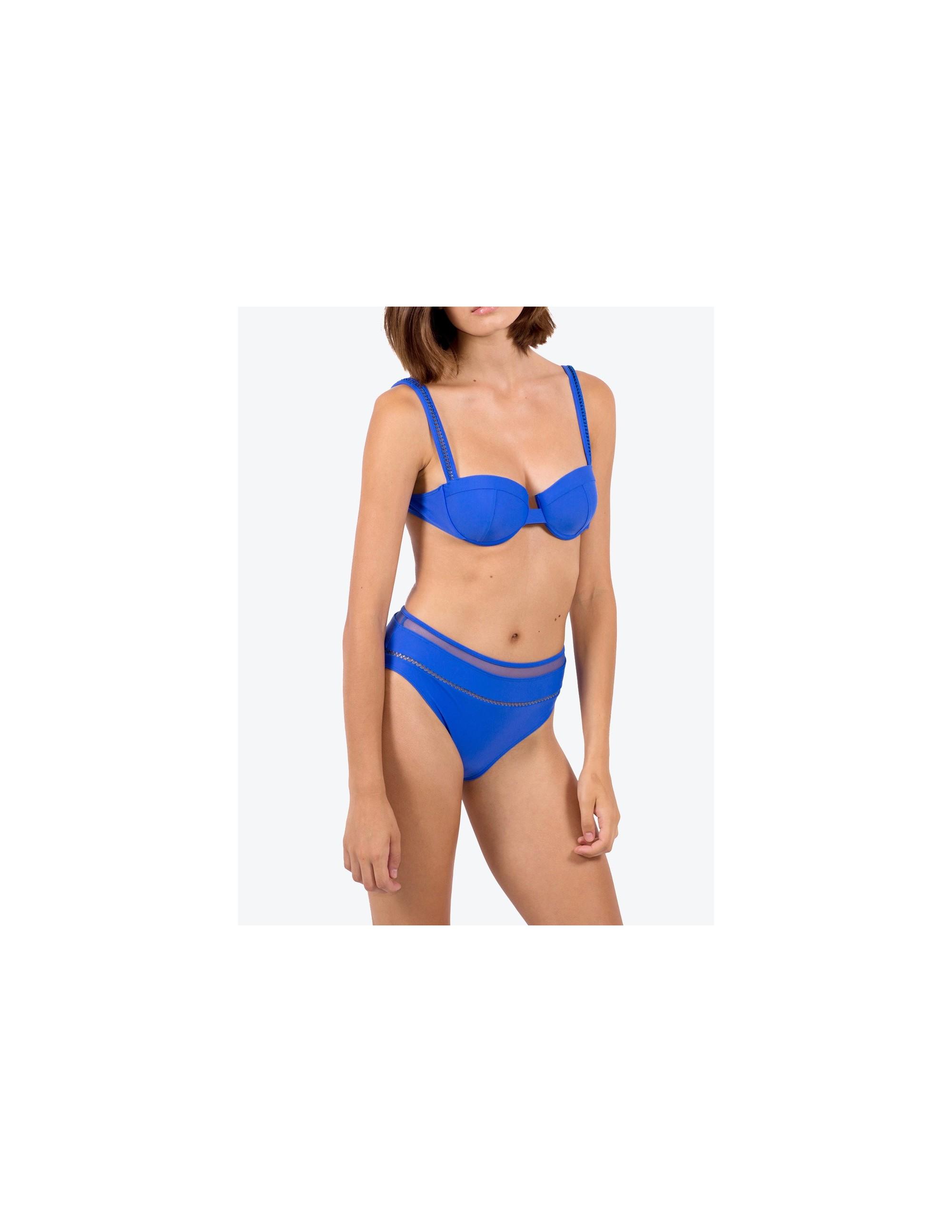 SIMOS bikini bottom - ECHO BLUE