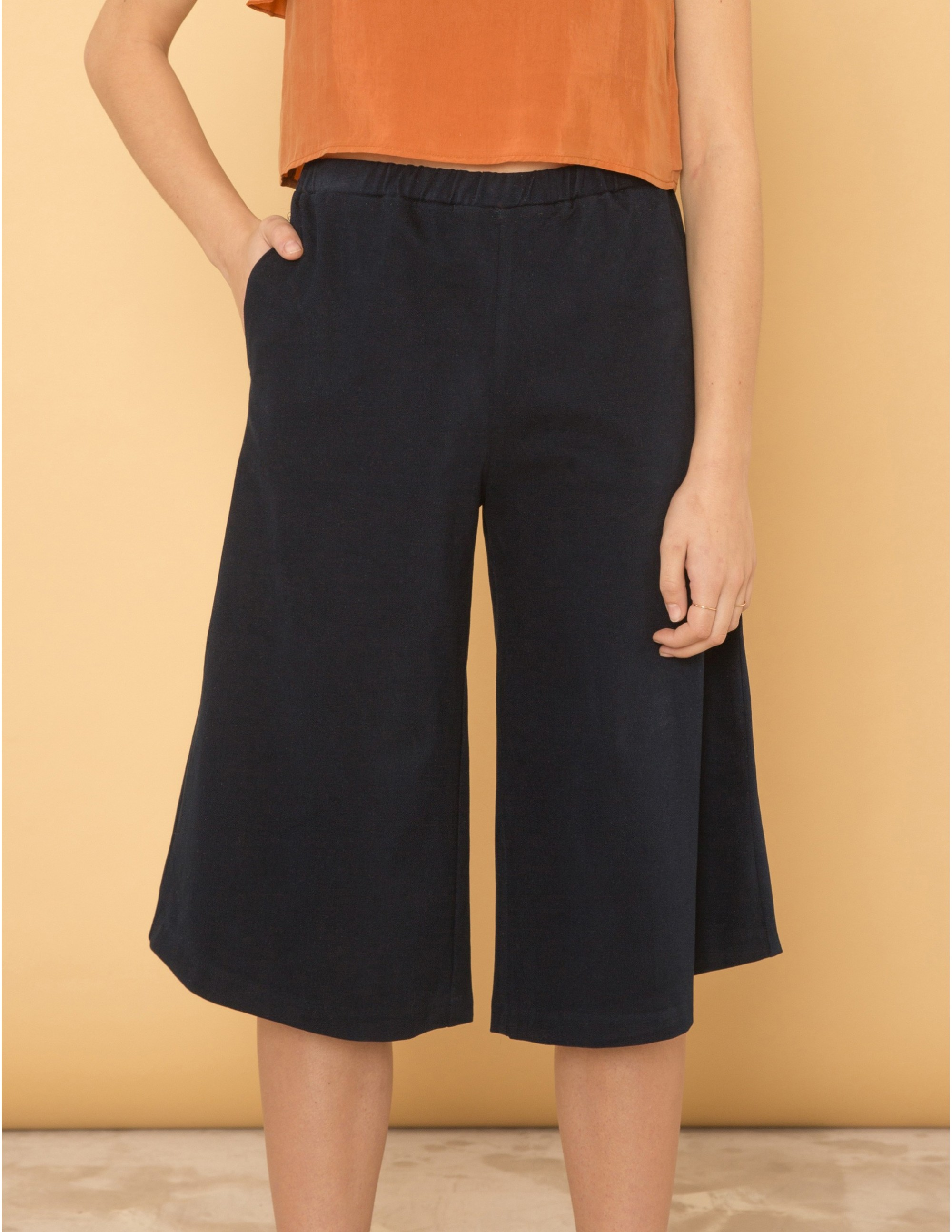 DISTRACTION pantalones - BLU NOTTE