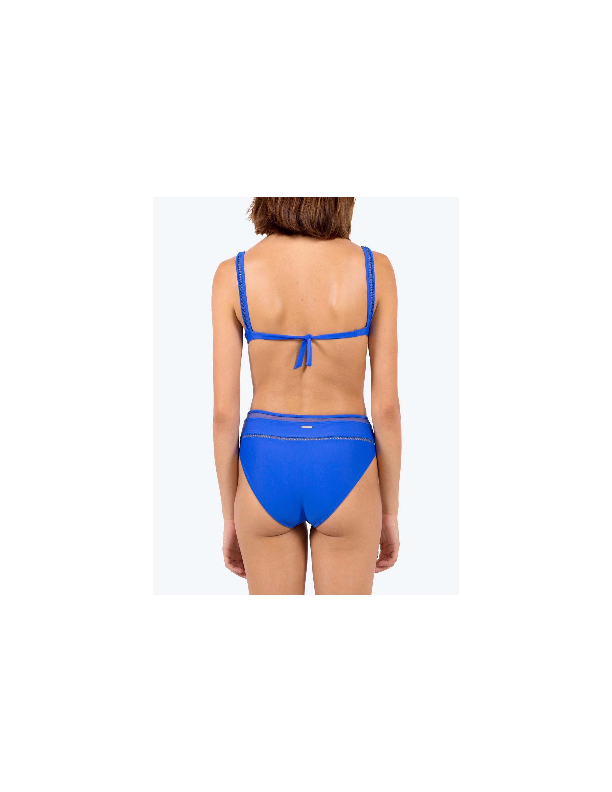 SIMOS bikini top - ECHO BLUE