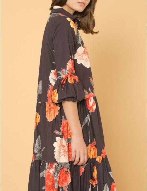 ATTRACTION Dress - SECRET GARDEN - RESET PRIORITY