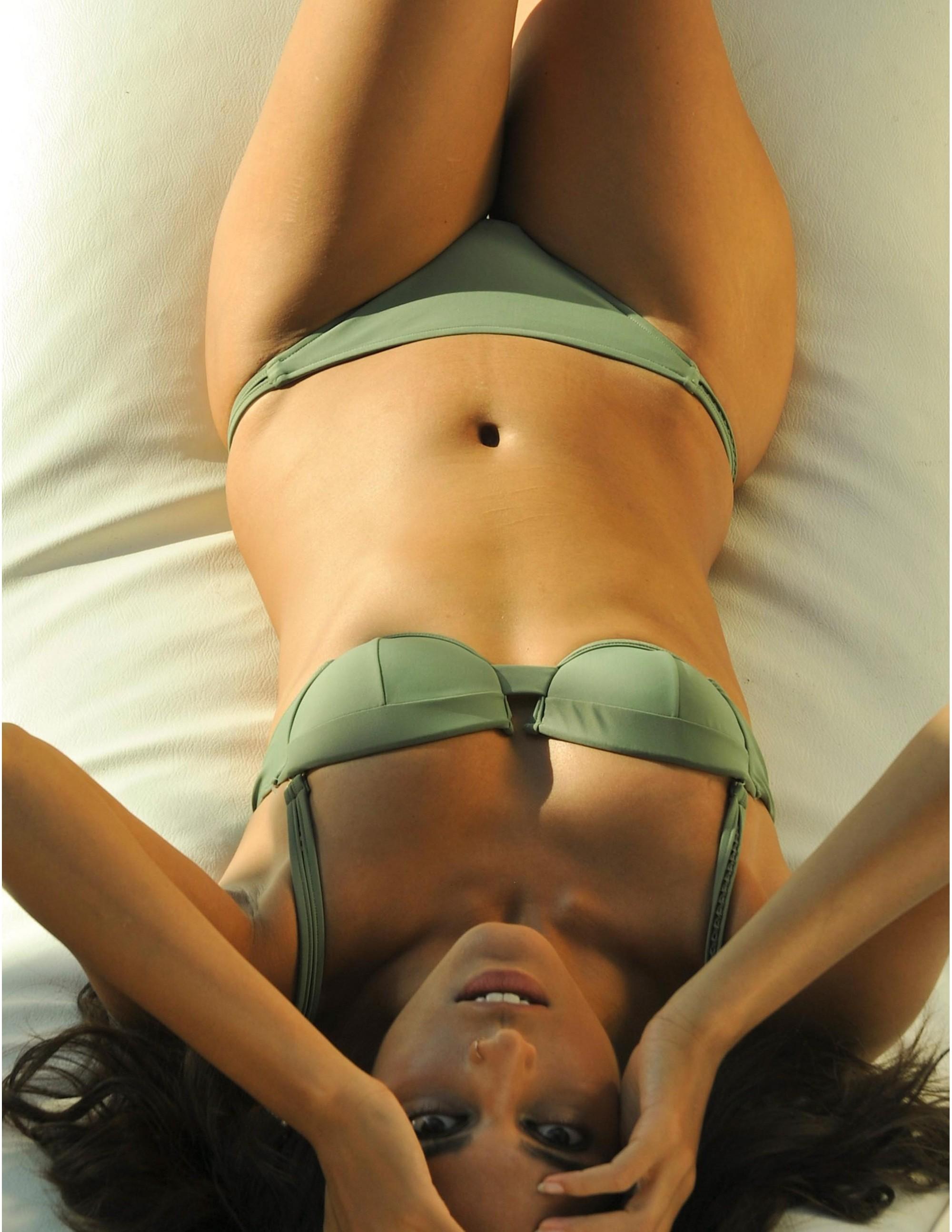ANAMUR bikini bottom - SERENGETI