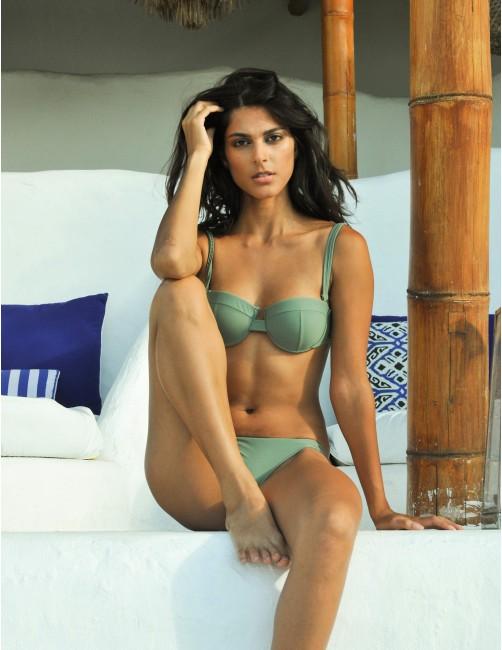 ANAMUR bikini bottom - SERENGETI - RESET PRIORITY