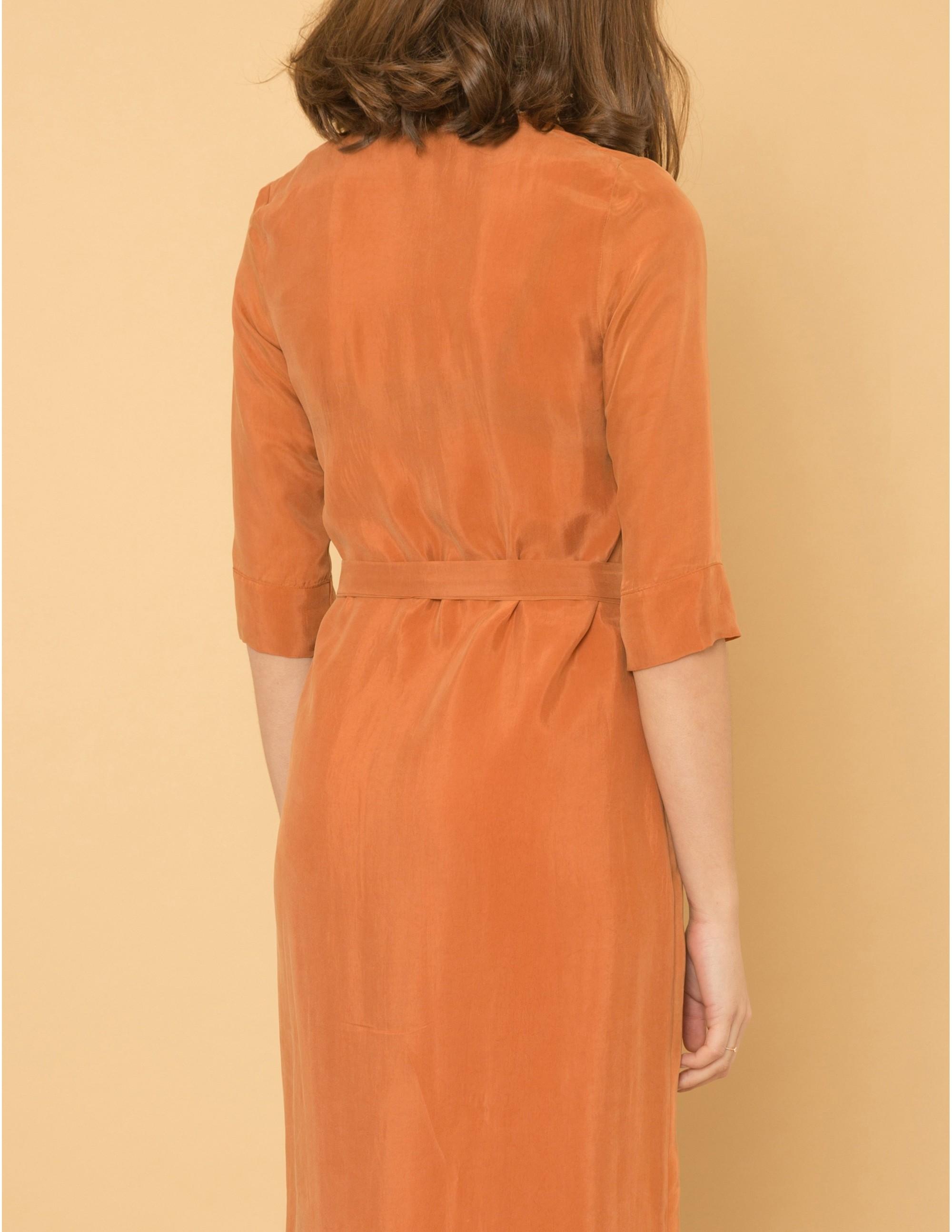 SEDUCTION Dress - SWEET CINNAMON