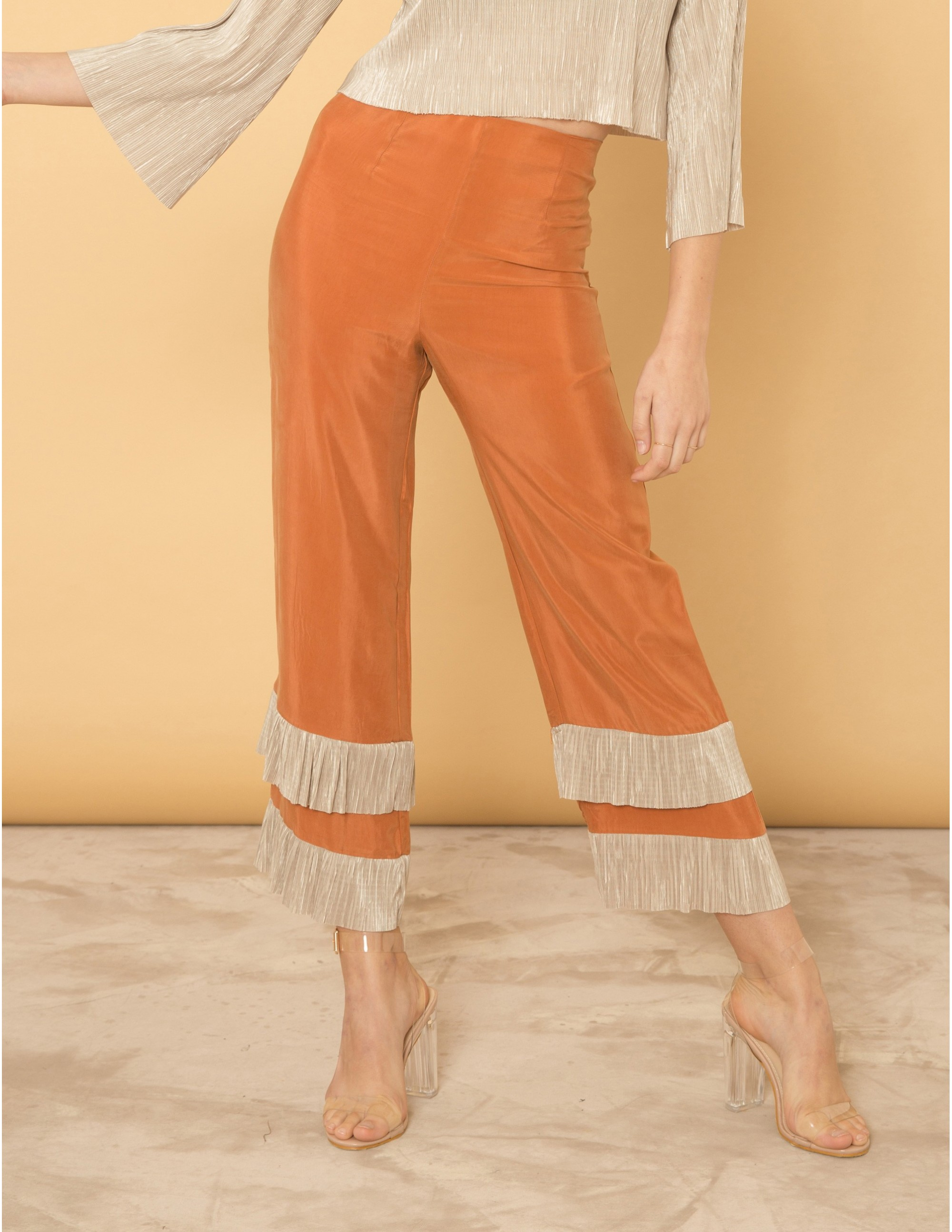 PERFECTION trousers - SWEET CINNAMON