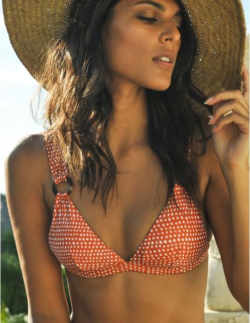 BAWE bikini top - CANDY FAWN - RESET PRIORITY