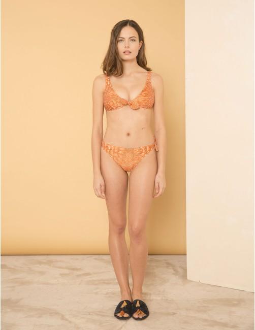 MISALI bikini top - CANDY FAWN - RESET PRIORITY