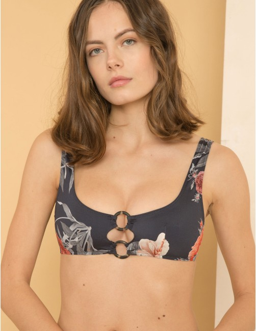 SONGO bikini top - SECRET GARDEN
