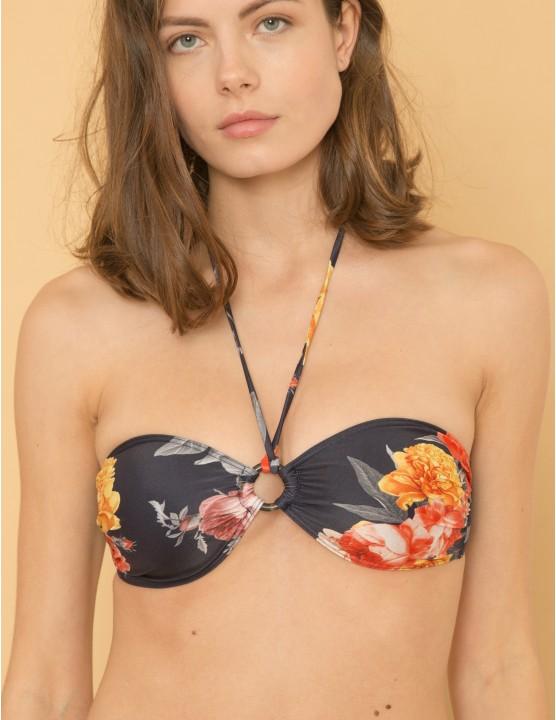 VUMA bikini top - SECRET GARDEN - RESET PRIORITY