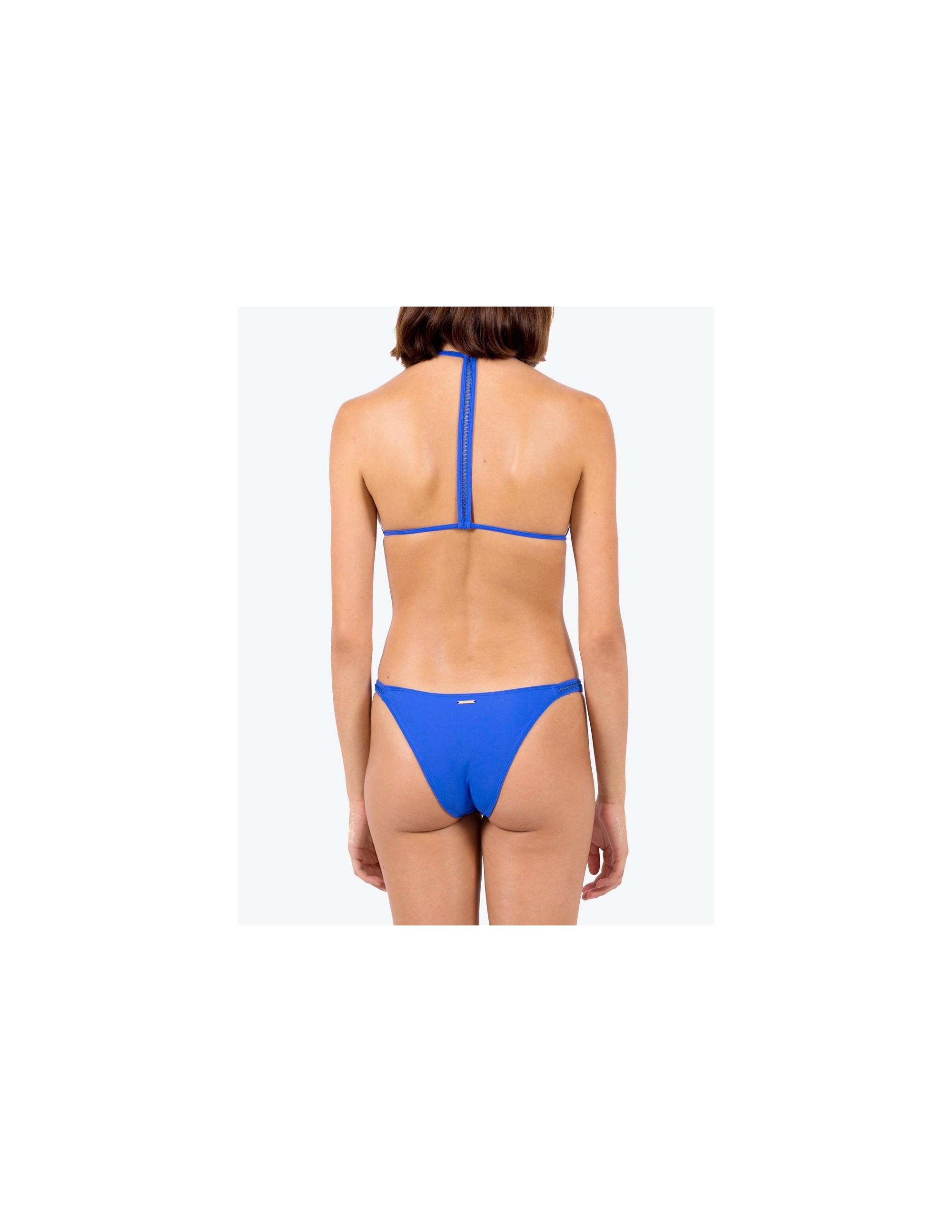 ANAMUR bikini top - ECHO BLUE