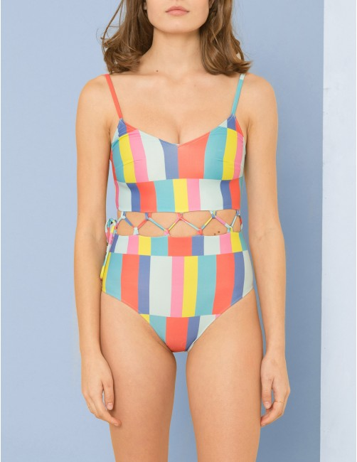 PYLA swimsuit - CRAZY MORNING - RESET PRIORITY
