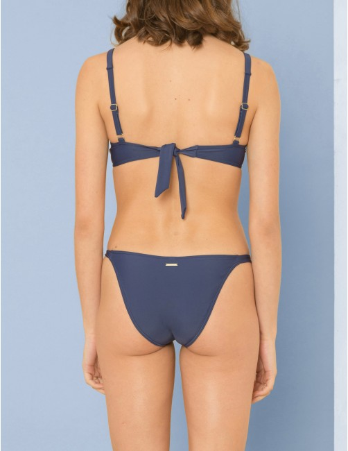 KIGO bikini bottom - BLU NOTTE - RESET PRIORITY