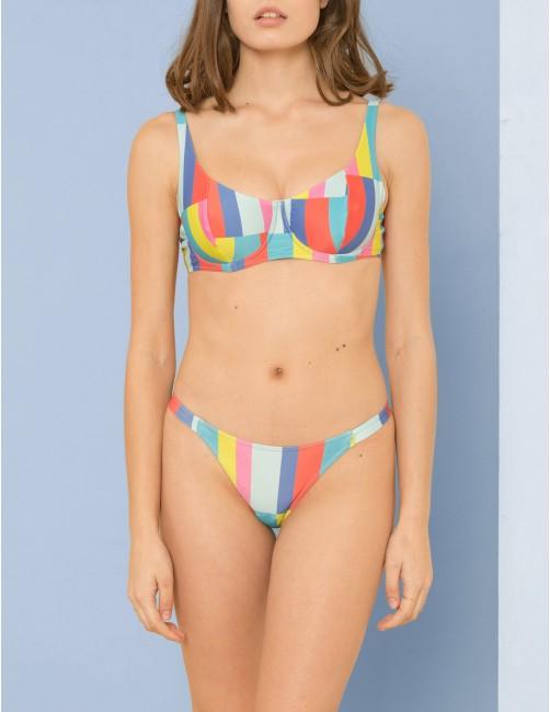 KIGO bikini top - CRAZY MORNING - RESET PRIORITY