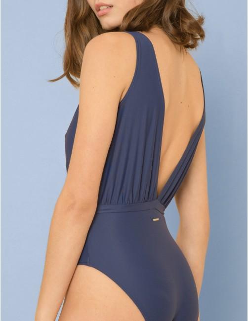 MATEMA swimsuit - BLU NOTTE - RESET PRIORITY