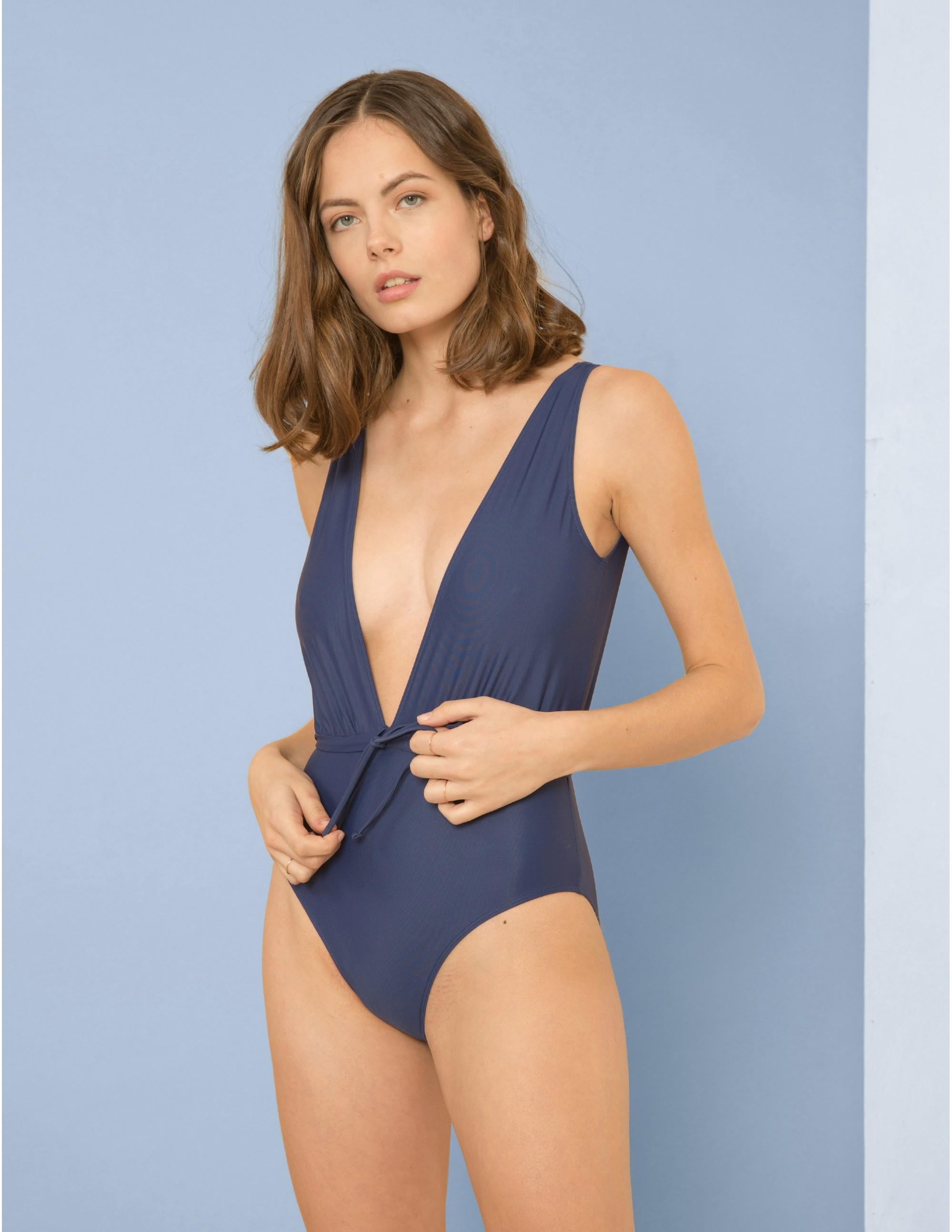 MATEMA swimsuit - BLU NOTTE