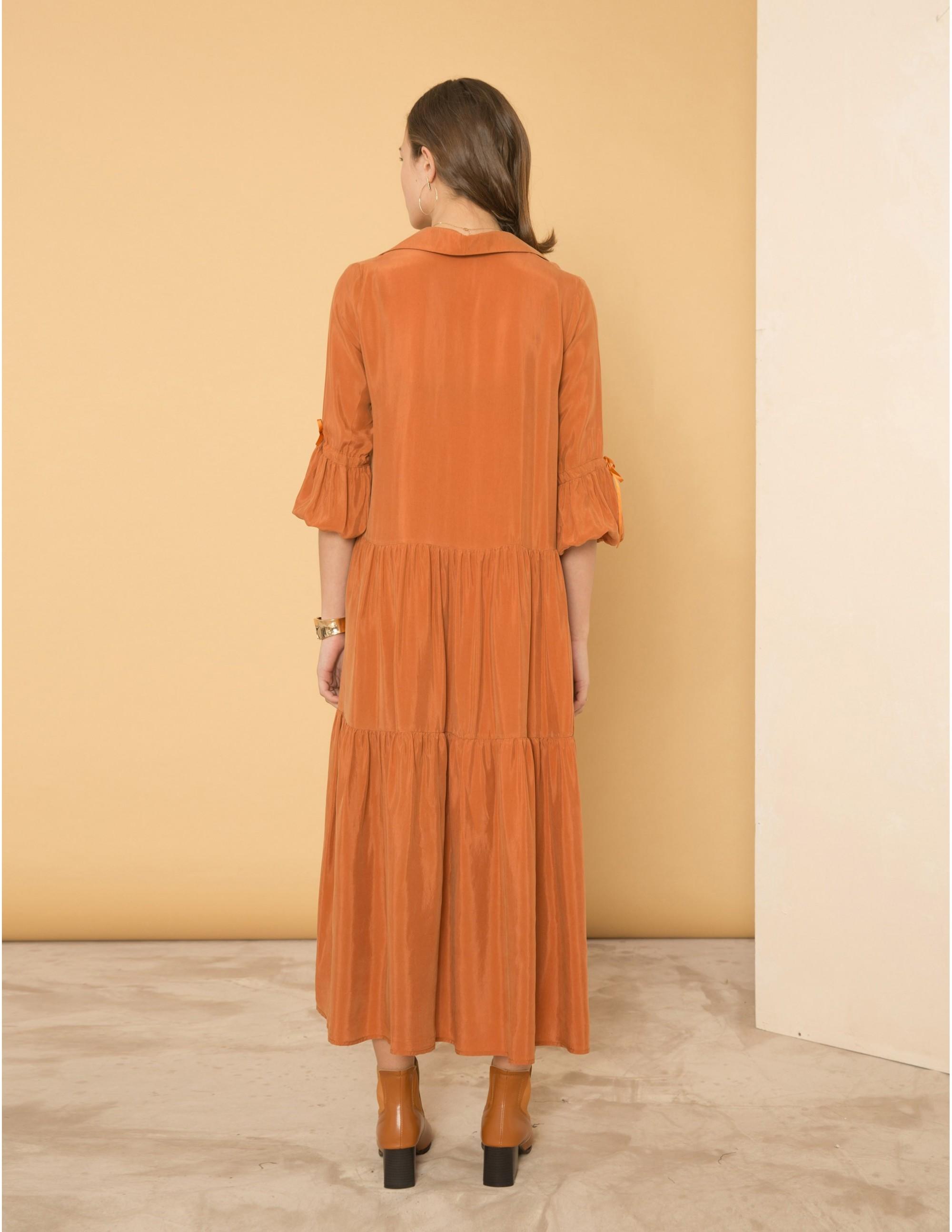 ATTRACTION Dress - SWEET CINNAMON