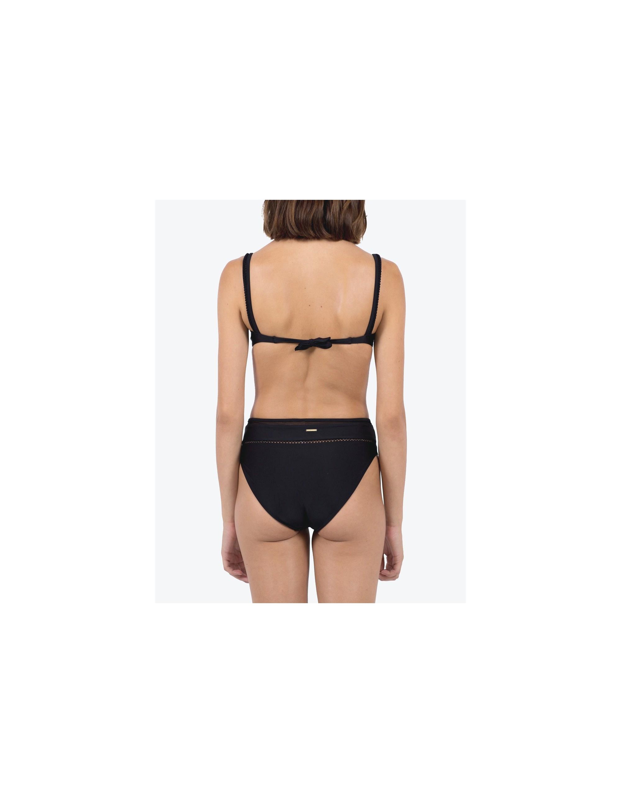 SIMOS bikini top - MATTE BLACK