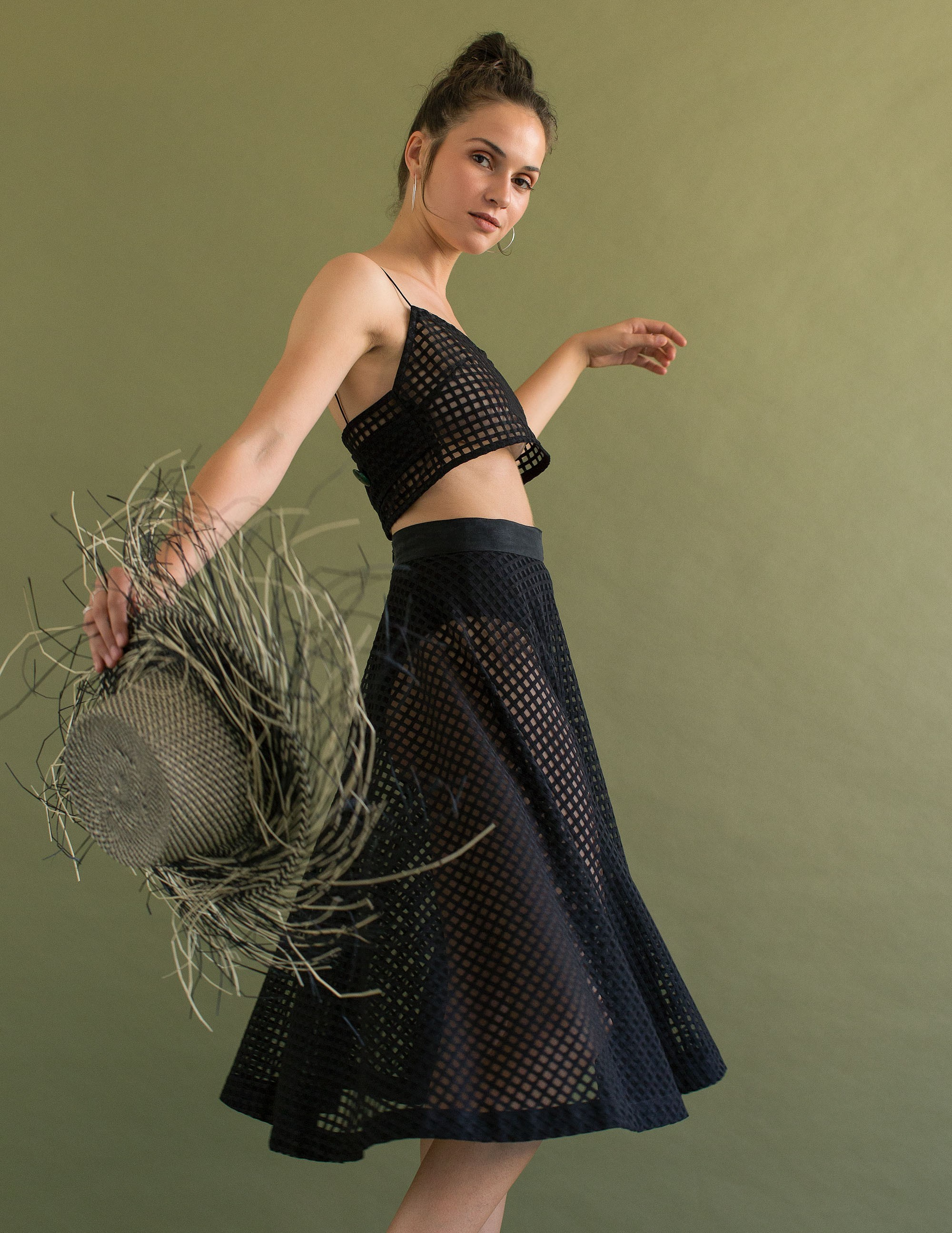 AMALFI Skirt - MIDNIGHT
