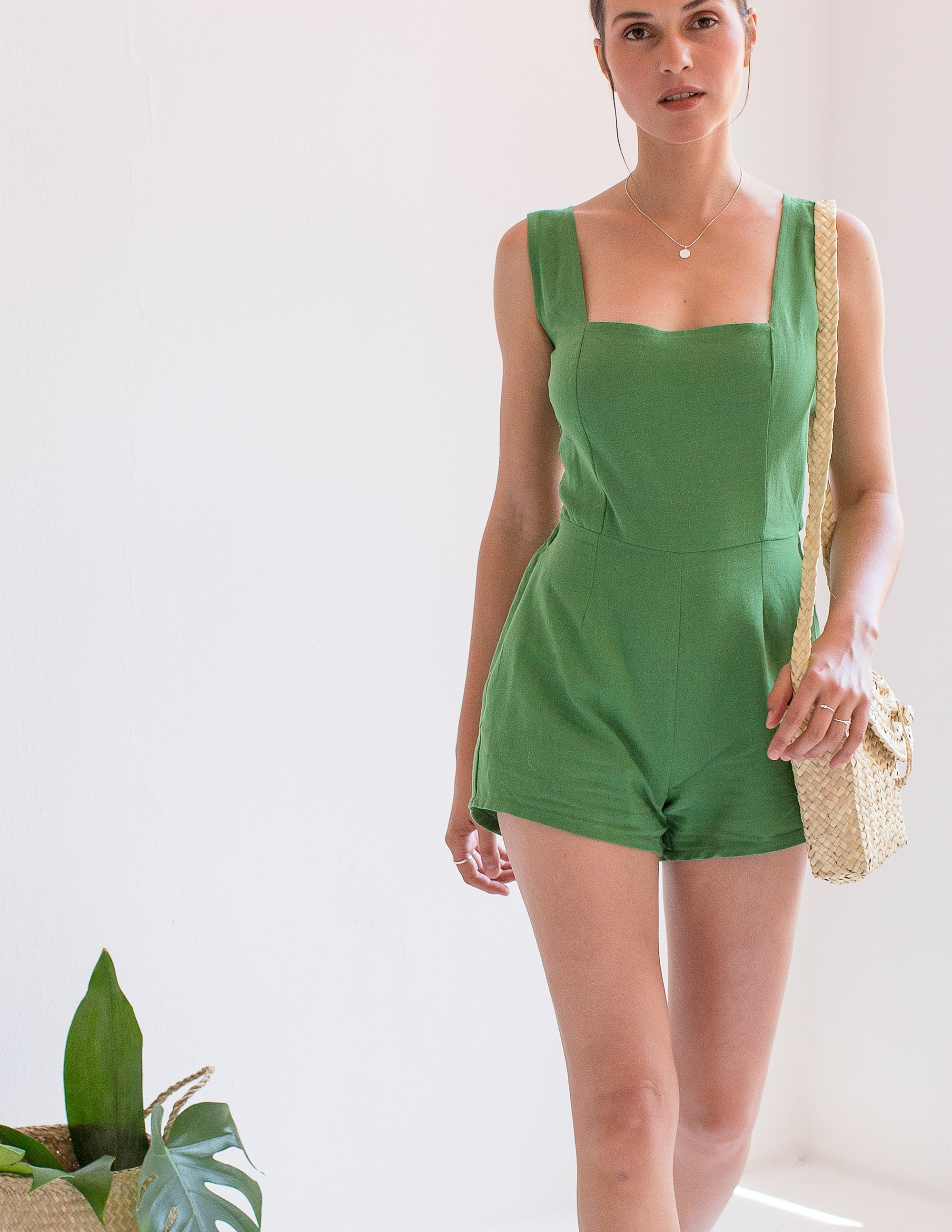 GIALOS Jumpsuit - BAMBOO