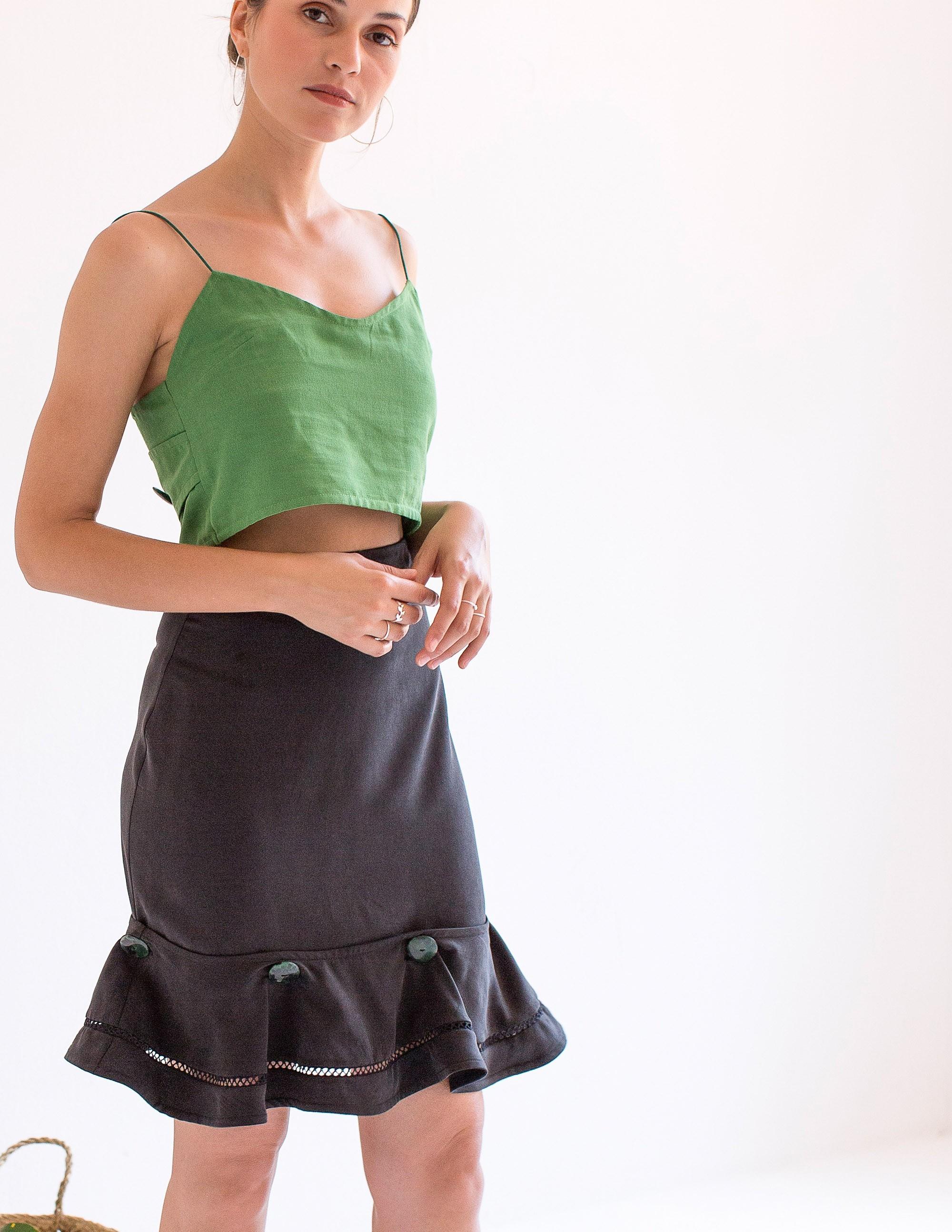 CAPRI Skirt - MIDNIGHT