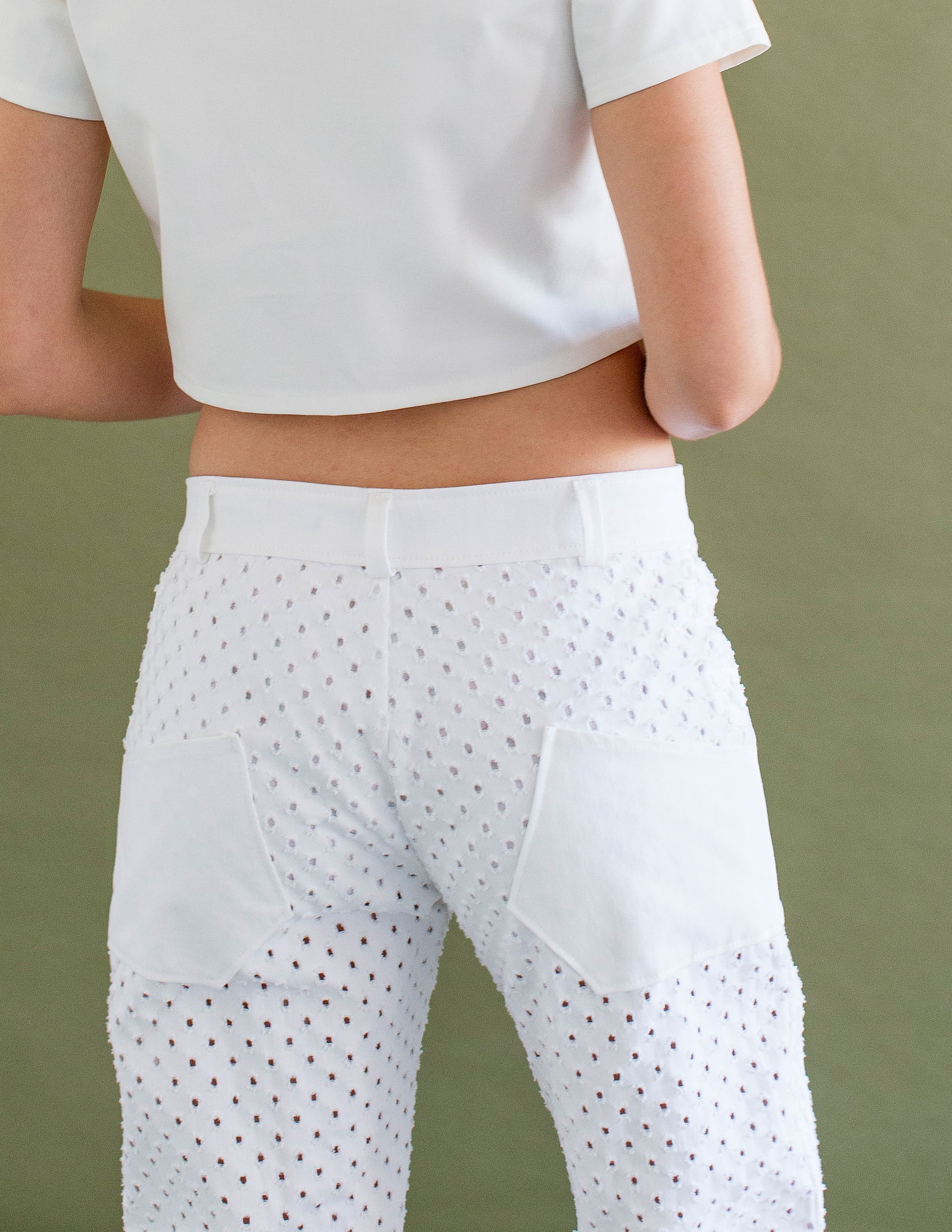 MILOS Trousers - PURE