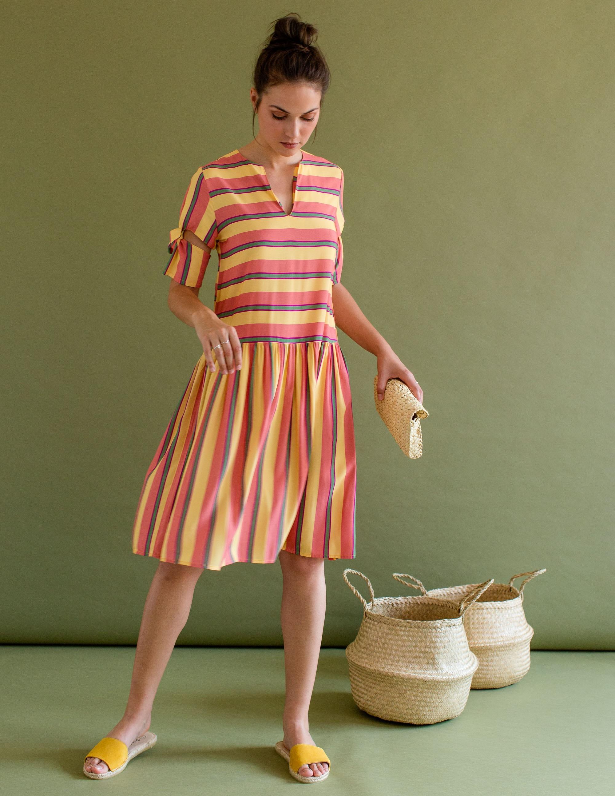 NAVAGIO Dress - TUTTI FRUTTI