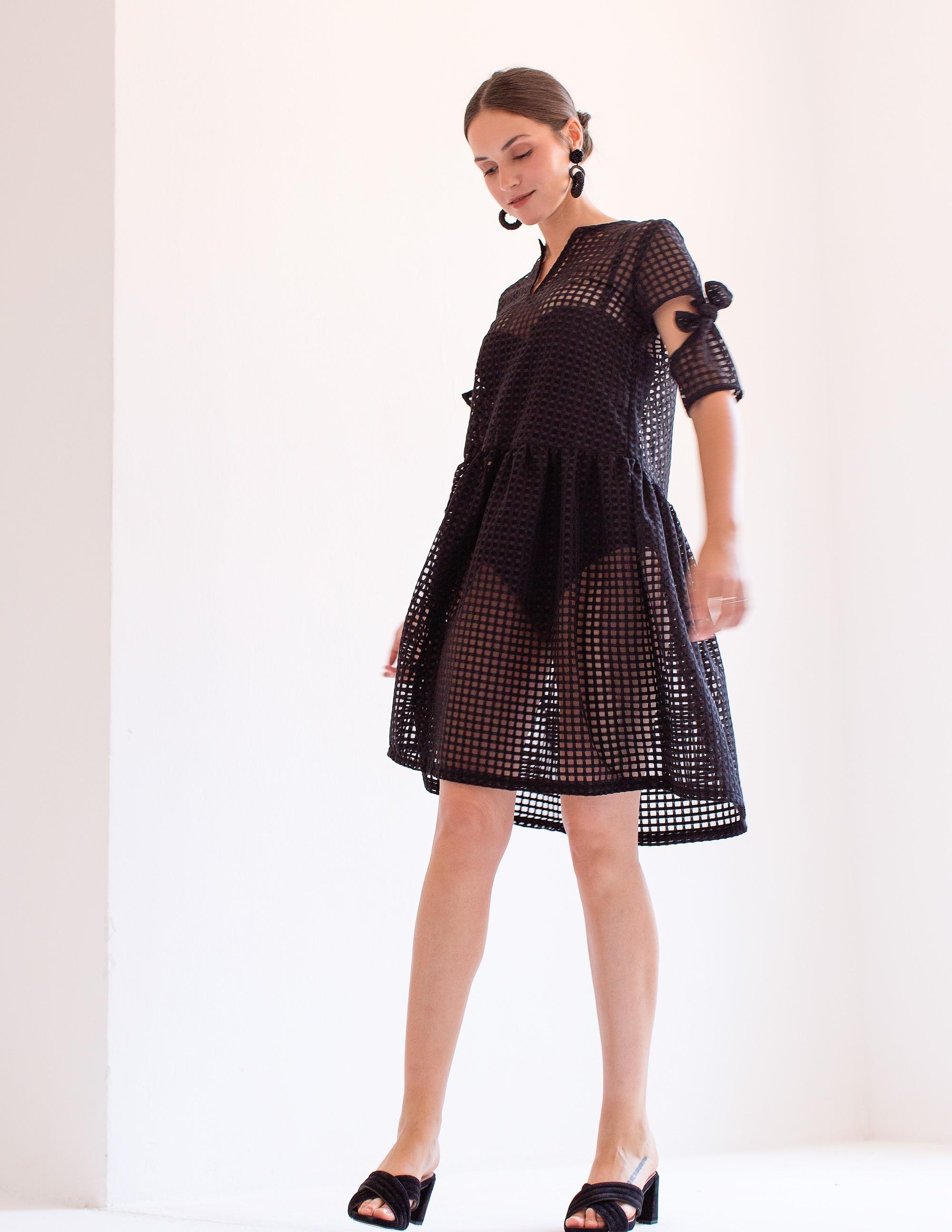 NAVAGIO Vestido - MIDNIGHT